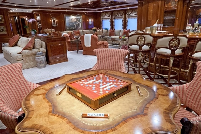 Superyacht Martha Ann - Main saloon