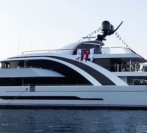 New 50m superyacht Euphoria launched