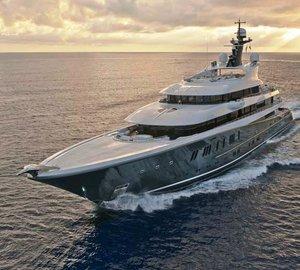 90m Mega Yacht PHOENIX 2 by Lurssen Spotted in Germany