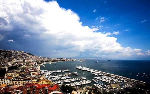 Naples, Italy - Marina Molo Luise