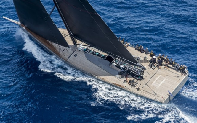 Open Season, Loro Piana Superyacht Regatta 2016. Photo Carlo Borlenghi