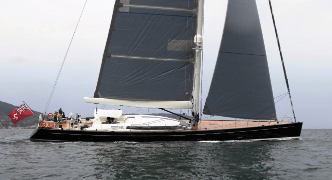 Perini Navi 38m luxury sail yacht DAHLAKK