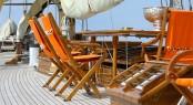 Sailing Yacht PURITAN - Deck