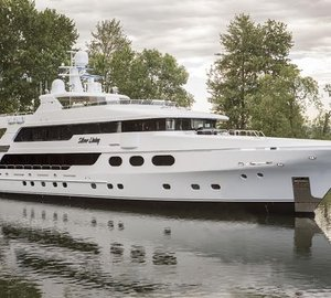 P/R: Christensen Shipyards launches 50m superyacht Silver Lining