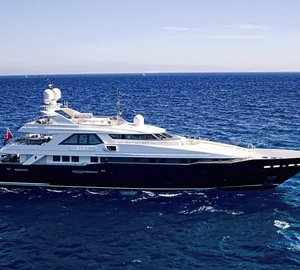 Enjoy Croatia, Turkey or Greece this Summer aboard the Beautiful 44m Luxury Charter Superyacht KIJO