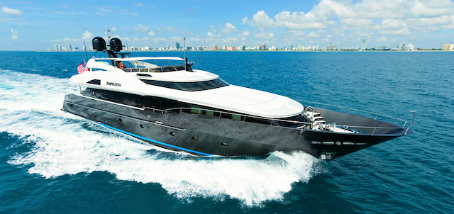 Luxury yacht TEMPTATION - Exterior