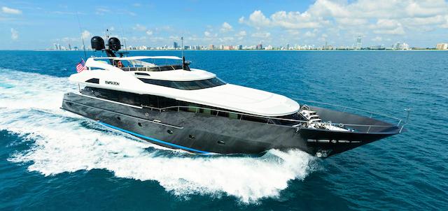Luxury yacht TEMPTATION - Exterior