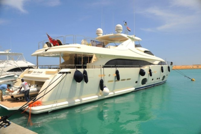 Yacht Robusto (ex PORT GHALIB) - At View in port