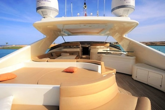 Yacht Robusto (ex PORT GHALIB) - Sundeck