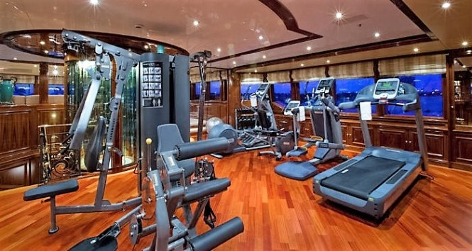 Superyacht Martha Ann - Gym