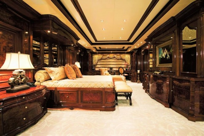 Superyacht Martha Ann - Master suite