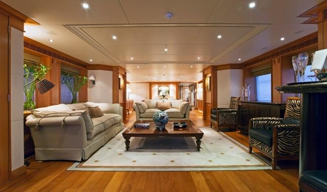 Luxury yacht SEVEN SINS - saloon