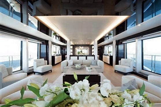 Luxury yacht JACOZAMI - Saloon