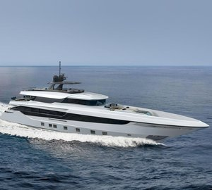Mangusta launches its first long range superyacht from new shipyard in Pisa