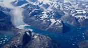 Aerialview_tidewater glaciers_Greenland