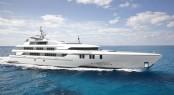84 M trimaran by Echo Yachts