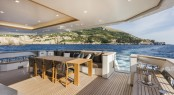M/Y DIVINE - Alfresco dining