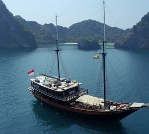 Exotic & Rare MYANMAR Luxury Yacht Charter Opportunity