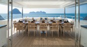 Luxury yacht ICE ANGEL - Alfresco dining