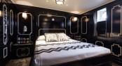 M/Y MALAHNE - Main suite. Image © Jeff Brown