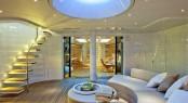 Sailing yacht PANTHALASSA - External lounge with dining area