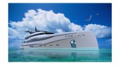 66m/217ft motor yacht concept design from Nuvolari Lenard