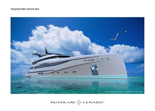 66m/217ft motor yacht concept design from Nuvolari Lenard