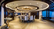 M/Y OKTO - Main saloon and dining area