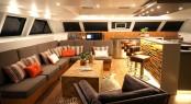 Luxury catamaran OPEN OCEAN - Saloon
