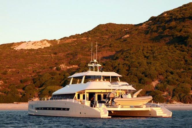 Luxury expedition catamaran OPEN OCEAN