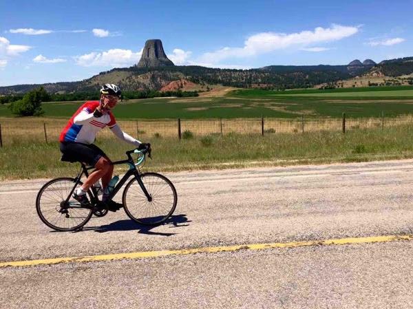 Lt. Scott White biking 4,000 miles across America for charity