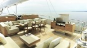 S/Y TWIZZLE - Lounging and dining area
