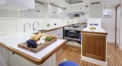 Sailing yacht CYGNUS MONTANUS - Galley