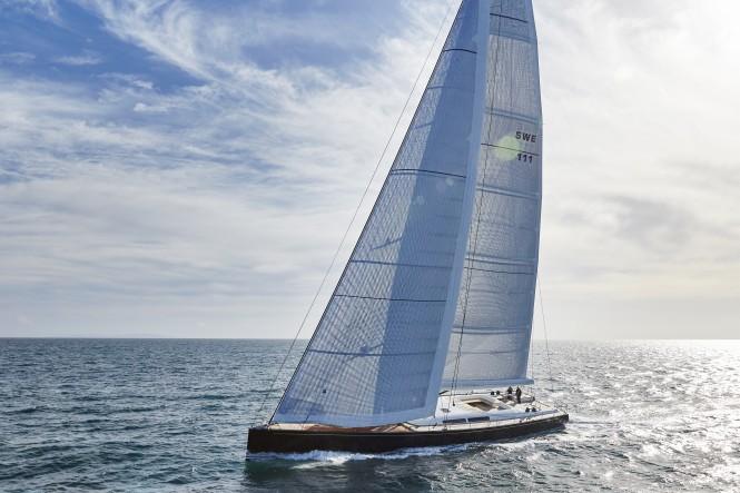 Sailing yacht CYGNUS MONTANUS. Image © Matt Crawford
