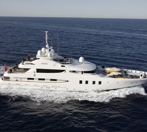 Superyacht Azteca II available for Mexican charter