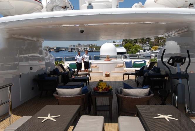 Yacht AZTECA II -  Sundeck