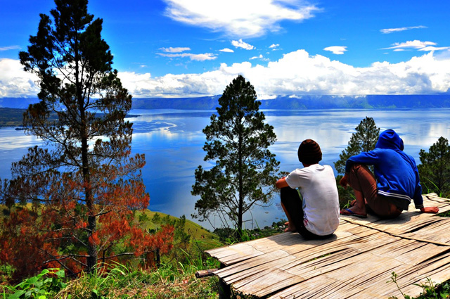 Lake Touba, Medan, Sumatra