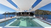 Luxury yacht AXIOMA - Bridge deck bar