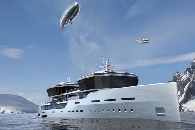 A 100 meter yacht design
