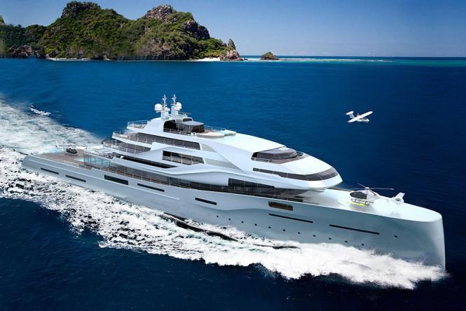 120 m yacht design