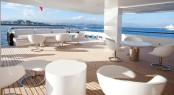 Motor yacht AIR - Alfresco seating area