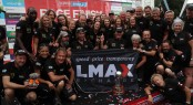 The LMAX Crew celebrate their victory