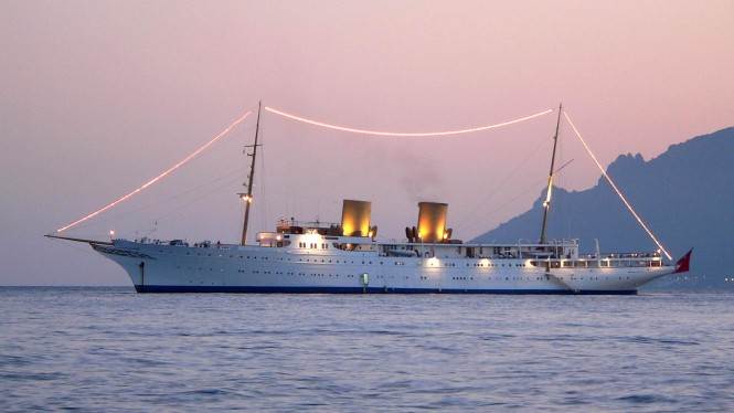 Blohm and Voss yacht Savarona