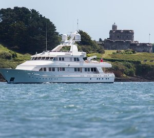 PENDENNIS SEND WORD: REFIT OF M.Y. CONSTANCE COMPLETE