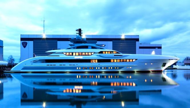 GALACTICA SUPER NOVA (70m alu) by Heesen Yachts