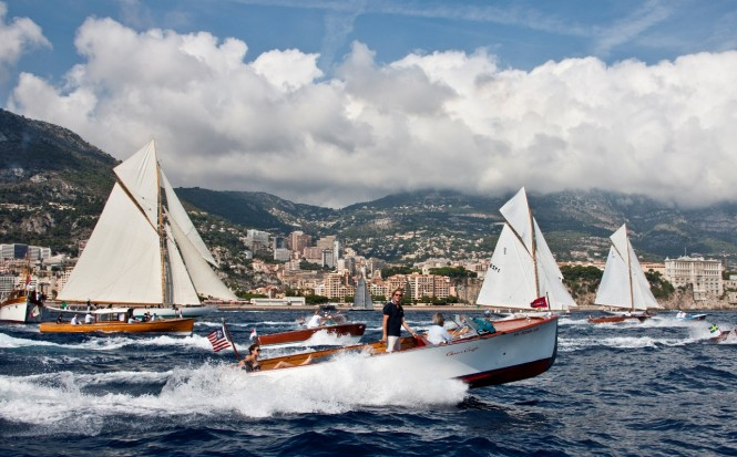 Monaco means luxury yachting!