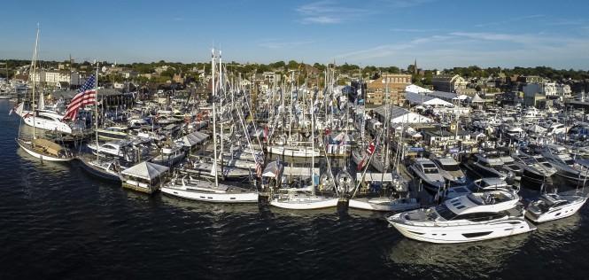 The Newport International Boat Show. Photo courtesy of Onne van der Wal.