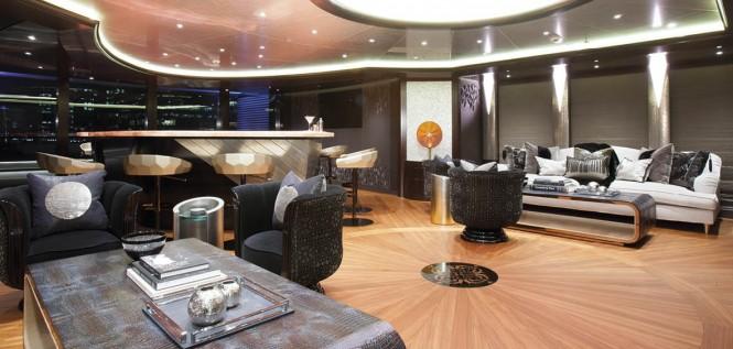 Luxury yacht KISMET - Skylounge