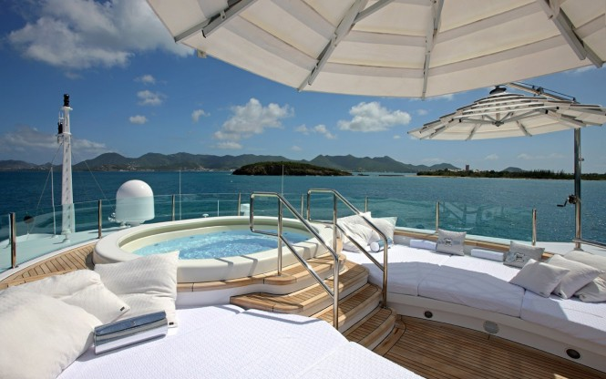 Benetti in the Caribbean