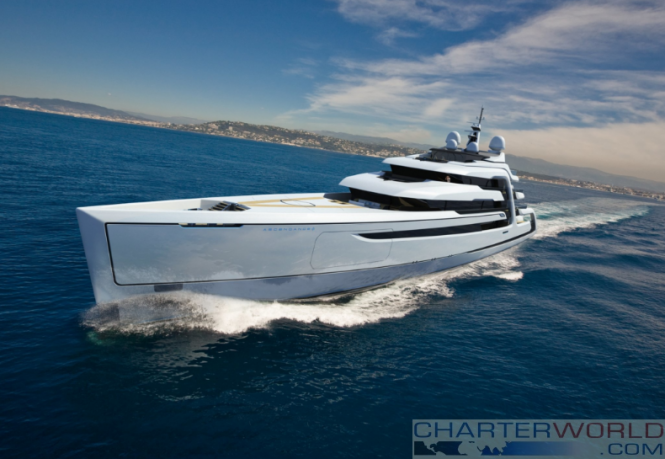 Andy Waugh Concept Yacht The 111m Ascendance 3
